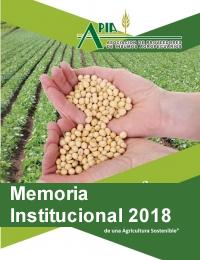 imagen del Memoria Institucional APIA 2018